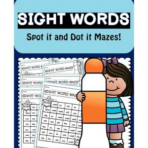 Sight Words Maze