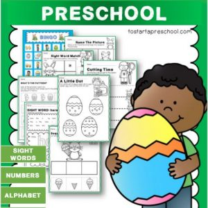 Easter Theme Preschool Packet
